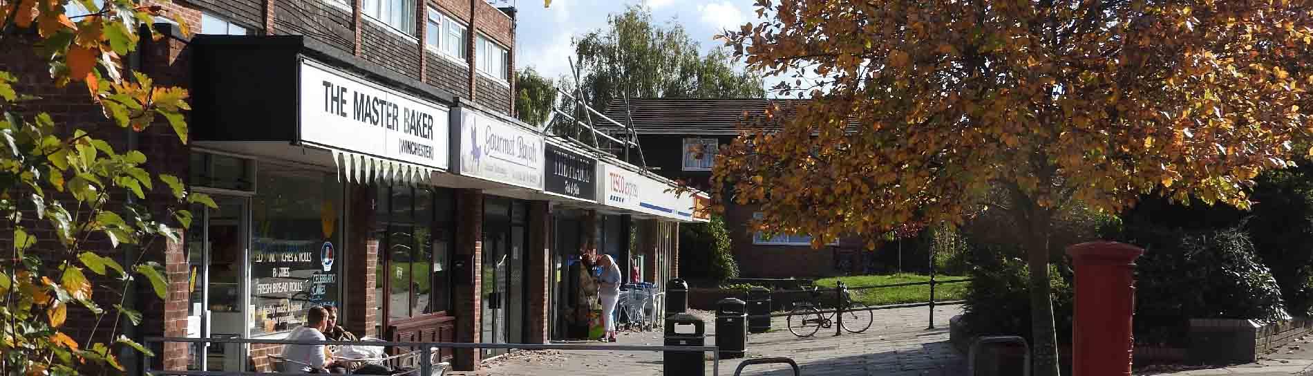 Harestock Shops